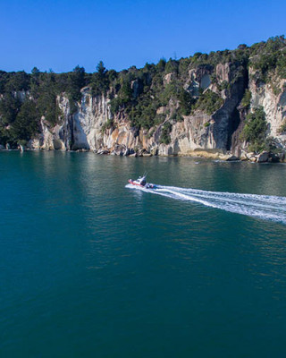 Aerial Cruise - Cathedral Cove Scenic Cruises